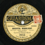 【SP盤】GB GUARDSMAN 2055 CARNIVAL DANCE BAND Romberg ONE ALONE / SMOLEV ORIENTAL MONNLIGHT[