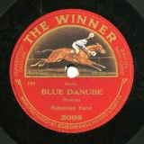 【SP盤】GB THE WINNER 2098 BOHEMIAN BAND BLUE DANUBE / COUNT OF LUXEMBOURG