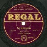 【SP盤】GB REGAL G9171 WILL FYFFE THE GAMEKKPER / THE CENTENARIAN