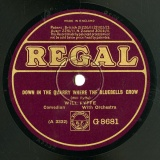 【SP盤】GB REGAL G8681 WILL FYFFE DOWN IN THE QUARRY WHERE THE BLUEBELLS GROW / DR.MCGREGOR