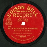 【SP盤】GB EDISON BELL 3945 SCOTS GUARDS MONASTERY GARDEN / IN A PERSIAN MARKET