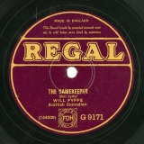 【SP盤】GB REGAL G9171 WILL FYFFE THE GAMEKEEPER / THE CENTENARIAN