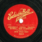 【SP盤】GB EDISONBELL 5433 NEW TYLE TRIO CIRCASSIAN CIRCLE / FRANCIS SITWELL / MISS DUMBRECK