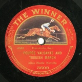 【SP盤】GB THE WINNER 3609 MARIE NOVELLO POUPEE VALSANTE AND TURKISH MARCH / NIGGER DANCE