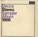 GB  DEC  SXL6237 VARIOUS  DECCA STEREO SAMPLER ALBUM 1966