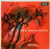 GB  DEC  SXL6029 ボスコフスキー GREAT STRAUSS WALTZES