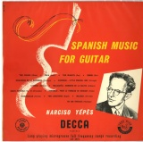 GB  DEC  LXT2974 イエペス SPANISH MUSIC FOR GUITAR