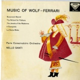 GB  DEC  SXL2177 ネルロ・サンティ MUSIC OF WOLF-FERRARI