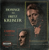 GB DEC LXT5012 カンポーリ HOMAGE TO FRITZ KREISLER