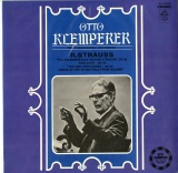 JP 東芝(赤盤)AA8086 otto klemperer conducts richard strauss(輸入メタル使用盤)