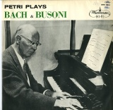 GB WEST XWN18255 エゴン・ペトリ PETRI PLAYS BACH&BUSONI