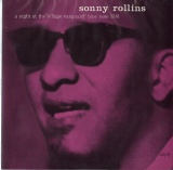 JP BLUENOTE BLP1581 SONNY ROLLINS A NIGHT AT THE VILLAGE VANGUARD