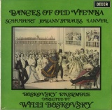 GB DEC SXL6344 ボスコフスキー DANCES OF OLD VIENNA