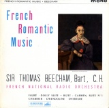 GB EMI ALP1843 ビーチャム French Romantic Music