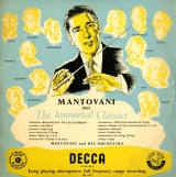 GB DEC LK4072 マントヴァーニ MANTOVANI PLAYS THE IMMORTAL CLASSICS
