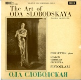 GB DEC LXT5663 スロボドスカヤ The Art of ODA SLOVODSKAYA