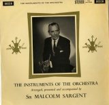 GB DEC SXL2193 サージェント THE INSTRUMENTS OF THE ORCHESTRA