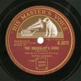 【SP盤】GB HMV B.3072 PETER DAWSON THE SMUGGLER S SONG/BOOTS