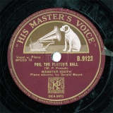 【SP盤】GB HMV B.9123 WEBSTER BOOTH|Gerald Moore PHIL THE FLUTER'S BALL/THE ROSE OF TRALEE