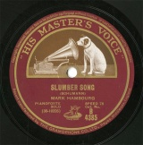 【SP盤】GB HMV B4385 MARK HAMBOURG SLUMBER SONG/MELODY IN F