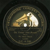 【SP盤】GB HMV G.C.-4-2101 Mr.Harry Dearth Old Farmer John