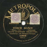 【SP盤】GB MET A1010 Sir Edward TORCH DANCE/BERCEUSE