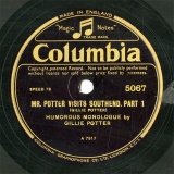 【SP盤】GB COL 5067 GILLIE POTTER MR.POTTER VISITS SOUTHEND.