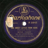 【SP盤】GB PARLO R3342 SOPHIE TUCKER DNE SWEET LETTER FROM HOME/FIFTY MILLION FRENCHMEN CAN T BE WRONG