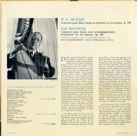 DE  DGG  LPM18 853 サバレタ&ツェラー モーツァル…