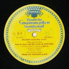 DE  DGG  SLPM138 890 ニカノール・サバレタ RE…