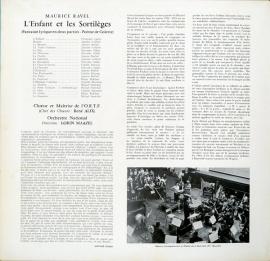 DE  DGG  138 675 マゼール ラヴェル・子供と呪文