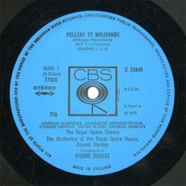 GB  CBS  77324 ブーレーズ  ドビュッシー・有名管弦楽…