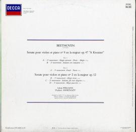 FR  DEC  591 082 パールマン&アシュケナージ ベート…