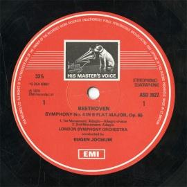 GB  EMI  ASD3627 ヨッフム  ベートーヴェン・交響曲…