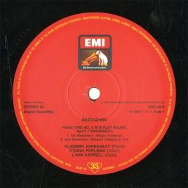 DE  EMI  ASD4315 パールマン&アシュケナージ…
