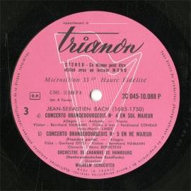 FR  TRIANON  2C045-10088 シュヒター バッハ…