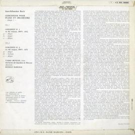 FR  VSM  C063-90065 デヴェツィ バッハ・ピアノ協…