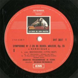 FR  VSM  UVT3037 フルトヴェングラー ベートーヴェン…
