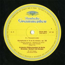 FR  DGG  2530 883 カラヤン チャイコフスキー・交響…