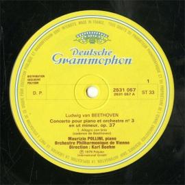 FR  DGG  2531 057 ポリーニ ベートーヴェン・ピアノ…