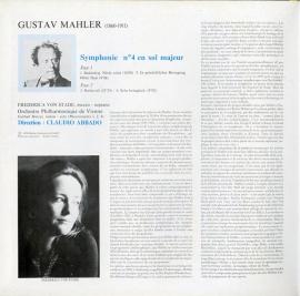 FR  DGG  2530 966 アバド マーラー・交響曲4番