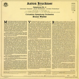 NL  CBS  CBS60297 ワルター ブルックナー・交響曲4番