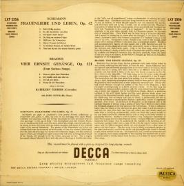 FR DEC  LXT2556 フェリアー シューマン・歌曲集