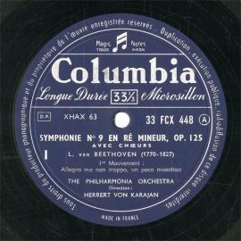 FR COL  FCX448-449 カラヤン ベートーヴェン・交響…