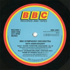 GB BBC BBC 4001 エルガー&ボールト&ブッシュ&トスカ…