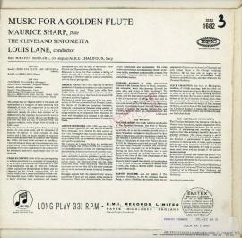 GB COL  SX1682 モーリス・シャープ フルート曲集