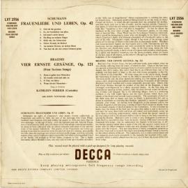 GB  DEC  LXT2556 フェリアー シューマン・歌曲集
