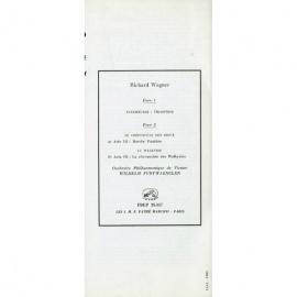 FR  VSM  FBLP25057 フルトヴェングラー ワーグナー…