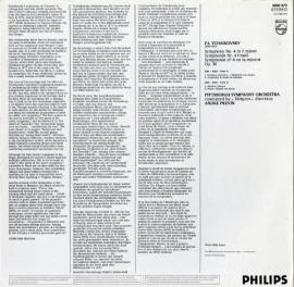NL  PHIL  9500 972 アンドレ・プレヴィン チャイコ…