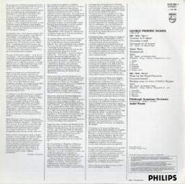 NL  PHIL  6514 366 プレヴィン  ヘンデル・名曲選